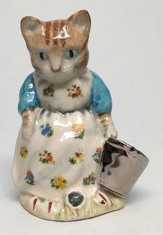 "Silver Bucket Royal Albert Beatrix Potter's "" Ribby and The Patty Pan "" | eBay"