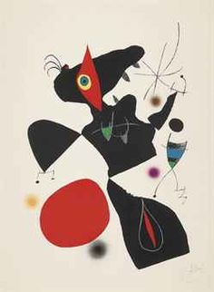 From Long-Sharp Gallery, Joan Miró, Oda a Joan Miro, mod 3 Lithograph on Paper, 34 × 24 in Joan Miro Paintings, Kandinsky, Art Auction, Artist Art, Lovers Art, Surrealism, Illustration Art, Artsy, Fine Art