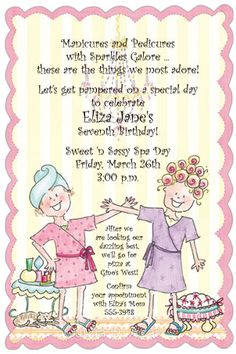 little girl spa party ideas | Spa Party Ideas for All Ages | blog.great-birthday-party-ideas.com
