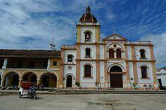 Iglesia principal. Mompx, Bolvar - Colombia
