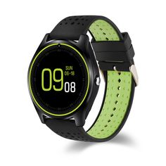 V9 1.22inch MTK6261 Fitness Sleep Tracker GSM TF Card Camera Bluetooth Smart Watch For iOS Android