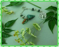 Moss Agate Tree of Life Spirit Bead™ by GrannysMagicCupboard
