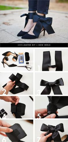 30 DIY Ideas and Tutorials To Refashion Your Shoes