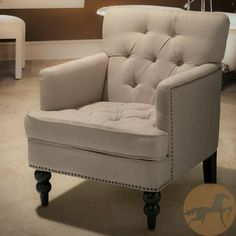 Christopher Knight Home Malone Beige Club Chair | Overstock.com Shopping - Great Deals on Christopher Knight Home Chairs $264