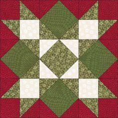 Mistletoe Star #48 - Christmas Colors