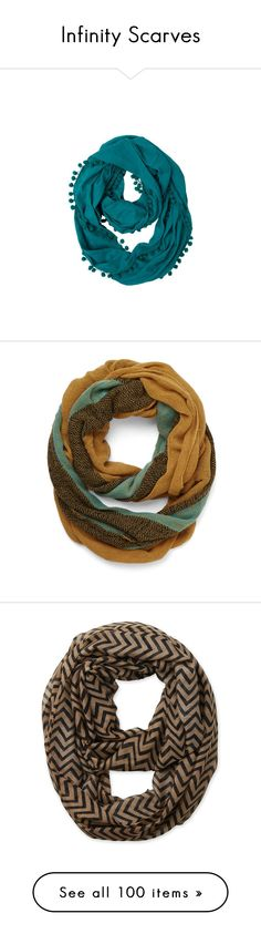 """""""Infinity Scarves"""" by jacci0528 ❤ liked on Polyvore featuring accessories, scarves, loop scarves, circle scarves, prana, infinity scarf, circle scarf, fashion scarf, yellow and sheer shawl"""