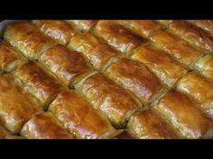 Νηστίσιμο Γαλακτομπούρεκο - Greek Custard Pie (Vegan) - Galaktompoureko - YouTube Bread Dough Recipe, Sausage, Food And Drink, Vegan, Baking, Custard, Desserts, Greek, Recipes