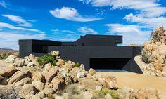 The Black Desert House by Marc Atlan + Oller & Pejic