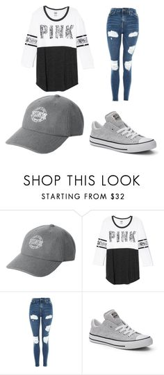"""""""Untitled #712"""" by alanawedge59 on Polyvore featuring Victoria's Secret, Topshop and Converse"""