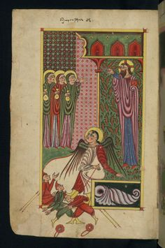 Gospels, Holy Women at the Empty Tomb, Walters Manuscript W.543, fol. 10v by Walters Art Museum Illuminated Manuscripts http://flic.kr/p/e8amTH