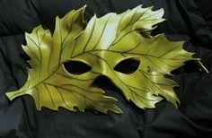 Masks Pagan Wicca Witch:  Woodland Leaf Greenman #mask.