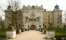 Castle in Rydzyna was rebuilt in 1700 by Pompeo Ferrari on his order.