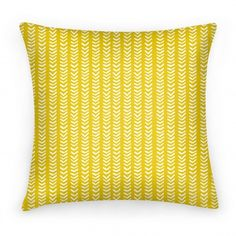 Mini Mustard Chevron Pattern