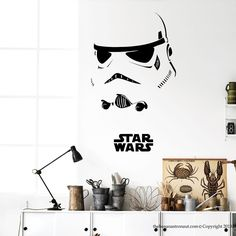Star Wars Wall Decal Stickers Decor Modern Easy Removable Vinyl Stickers