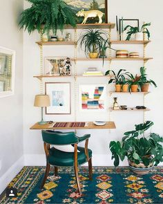 We have just found the perfect work space from @thejungalow & @dabito... isn't this just delish! Check out their pages... they're full of beautiful design & inspiration