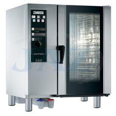 ZANUSSI Easy Steam , rozmer: 898x915x1058mm(šxhxv), príkon elektro: 17,5kW/400V, kapacita: 10 x GN1/1 , tvorba pary: v bojleri, teplotná sonda, funkci
