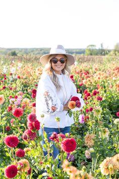 Dahlia Flower Farm #fall