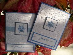Snowflake Peace by MaryAnnDOLN - Cards and Paper Crafts at Splitcoaststampers
