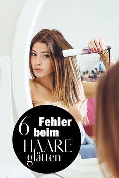 Haare glätten: Darauf solltest du achten, um Schäden vorzubeugen