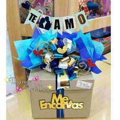 minnie first birthday party Birthday Box, First Birthday Parties, First Birthdays, Bday Gifts For Him, Unique Birthday Gifts, Love Gifts, Diy Gifts, Candy Bouquet, Valentines Diy