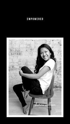 Senior Girl Photography, Senior Girl Poses, Photography Portraits, Senior Girls, Studio Portraits, Amazing Photography, Photography Ideas, Destinations, Chair Pose