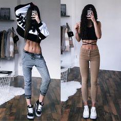 25.3 тыс. отметок «Нравится», 376 комментариев — @kathiischr в Instagram: «Which Outfit - 1 or 2 ??? …»
