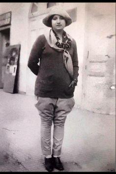 Oum Kulthoum in Luxor, 1924