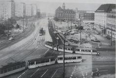 1971 Tröndlinring während des Umbaus Light Rail, Paris, Retro, History, Leipzig, City, Pictures, Montmartre Paris, Paris France