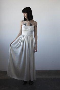Silk Mathilde Dress - Ivory
