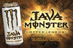 Monster Java Monster Energy Drink Review (Vanilla Light) | Gains Lifestyle