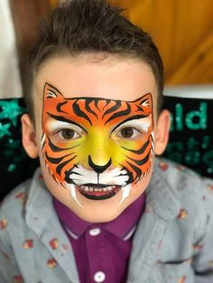 Halloween Looks, Halloween Season, Halloween 2019, Spirit Halloween, Halloween Costumes, Tiger Face Paints, Scary, Creepy, Masks