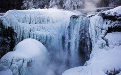 In pictures: Niagara Falls freezes again in sub-zero temperatures - Telegraph