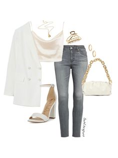 Swag Outfits, Cute Casual Outfits, Stylish Outfits, Polyvore Outfits Casual, Girls Fashion Clothes, Fashion Outfits, Classy Casual, Smart Casual, Aesthetic Clothes