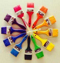 Paintbrush colorwheel