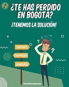 """🤔 ¿Te has perdido en Bogotá? ¡Tenemos la solución!😏 . .  📍 Con la aplicación #SITP que descargas directamente desde Play Store, obtienes la ruta con menos paradas para moverte entre dos estaciones del sistema #Transmilenio de Bogotá🇨🇴 . . 🇻🇪 Como venezolanos estamos acostumbrados a que las direcciones sean """"al lado de tal cosa, sigue caminando y preguntas""""😂 y al llegar a una ciudad como Bogotá donde hay tantas rutas de buses y calles que no conocemos, es normal que nos podamos… Family Guy, Instagram Posts, Movies, Movie Posters, Fictional Characters, Venezuela, Keep Walking, Lost, You Lost Me"""