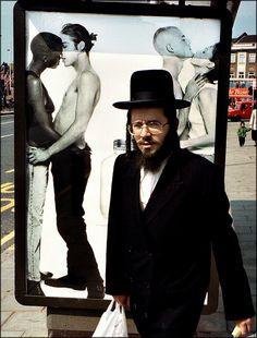 Jew in London. © Jørgen Flemming