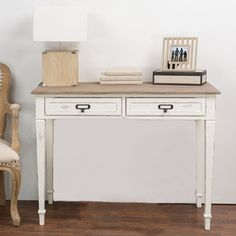 Dauphine Traditional French Accent Writing Desk - Overstock™ Shopping - Great Deals on Baxton Studio Desks 210.00
