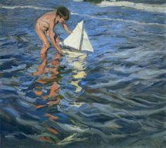 Joaquin Sorolla y Bastida, The Young Yachtsman, 1909, Oil on canvas, Museo Sorolla, Madrid