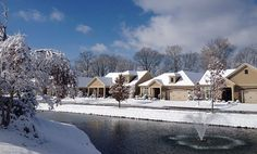 Enjoy the Beauty of Winter in our Maintenance Free Community at the Villas at Park Place!