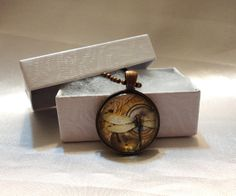 Vintage Dragonfly Art in Antique Copper by TheArtistsWorkshop, $8.00