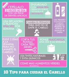 #Infografia 10 #Tips para cuidar el #Cabello... El #Cabello además de ser muy #Atractivo y #Sexy, es uno de los elementos que más define tu #Personalidad... ¡Cuídalo! Vía @Candidman