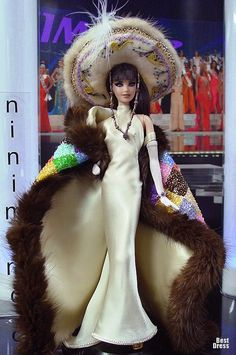 Miss Peru Barbie Doll 2009 Barbie Miss, Barbie And Ken, Jean Paul Gaultier, Simple Evening Gown, Peru, Poppy Parker, Barbie Collector, Barbie Friends, Barbie World