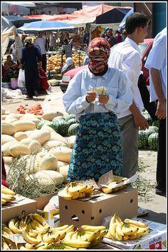 Market Day - Turkmenistan