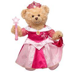 Happy Hugs Teddy in Sleeping Beauty Costume - Build-A-Bear Workshop US