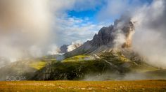 Tre Cime at the morning by luoslav