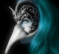 You can buy this mask from many craft shops such as Lincraft and Spotlight. The Goblin Ball: Ice Kingdom. Venetian Carnival Masks, Carnival Of Venice, Plague Mask, Daughter Of Smoke And Bone, Steampunk, Bird Masks, Foto Art, Beautiful Mask, Carnival Costumes