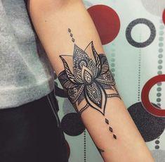 "Result # of the # search # images # for # ""idea … - tattoo feminina Lotusblume Tattoo, Body Art Tattoos, Hand Tattoos, Small Tattoos, Sleeve Tattoos, Tatoos, Tattoo Thigh, Lotus Mandala Tattoo, Sternum Tattoo"