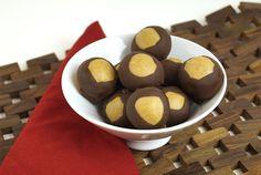 Peanut free candy recipe for SunButter Buckeye Balls