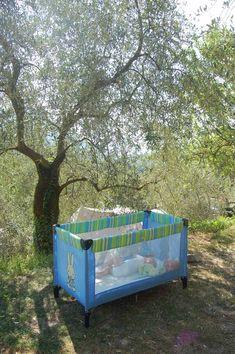 Camping Sainte Madeleine in Sospel: ruime plekken op een groene camping, in de bergen, in de buurt van het strand, eenvoudig zwembad. Perfect plekje! Family Camping, Outdoor Furniture, Outdoor Decor, Toddler Bed, Vacation, Saints, Places, Holiday, Travel