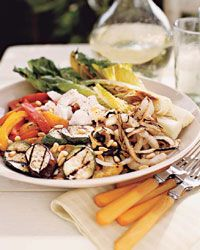 Adler and Fertig's Knife and Fork grilled Vegetable Salad recipe on Food and Wine Magazine